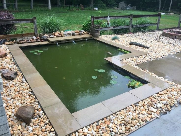 How to build a pond easily cheaply and beautifully the for Building a koi pond step by step