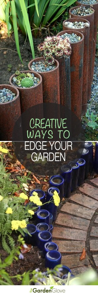 Garden Edging: 5 Ways to Edge Your Landscape with Recycled Materials