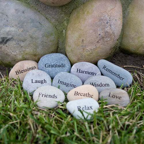 Rocks in the garden