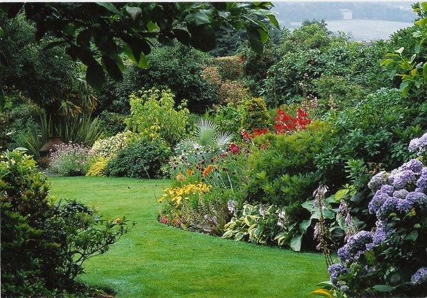 Garden Design With Shrubs : Guidelines creativity with your garden designs the glove