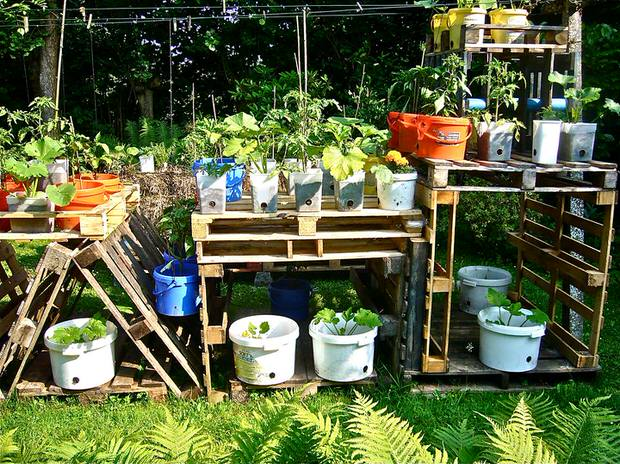 wood pallet diy garden ideas