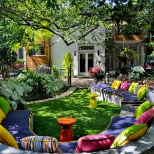 beautiful backyard gardens