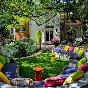 beautiful backyard gardens