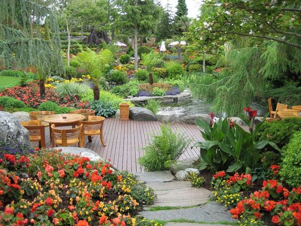 Beautiful backyards inspiration for garden lovers the for Beautiful yard landscapes