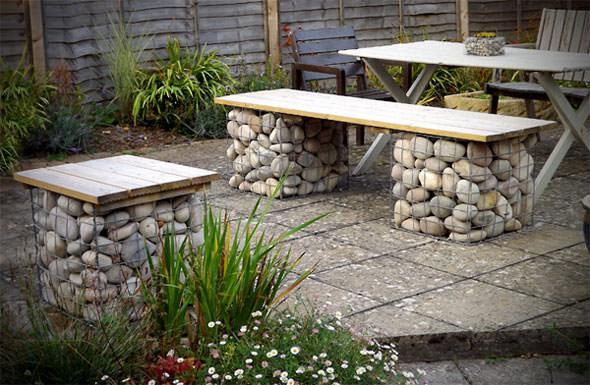 stones garden project