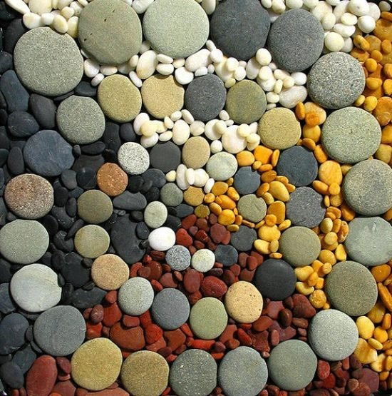 garden projects with stones and rocks