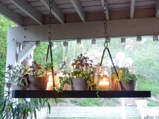 diy outdoor mood lighting
