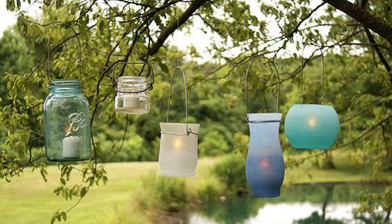 How to Make a Unique DIY Garden Lantern | The Garden Glove
