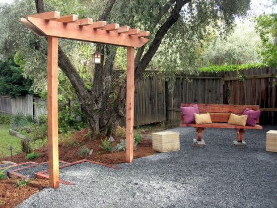 DIY Garden Arbor