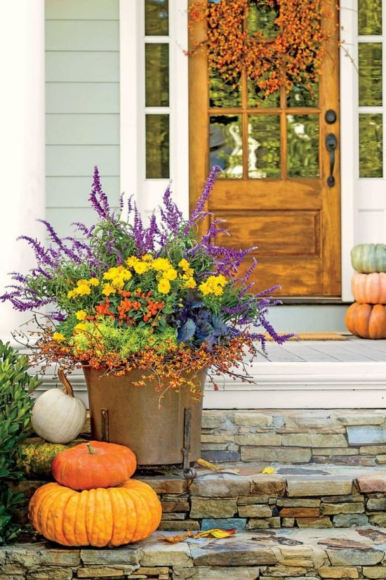 Fall Planter Ideas - Wow 'Em in 3 Easy Steps