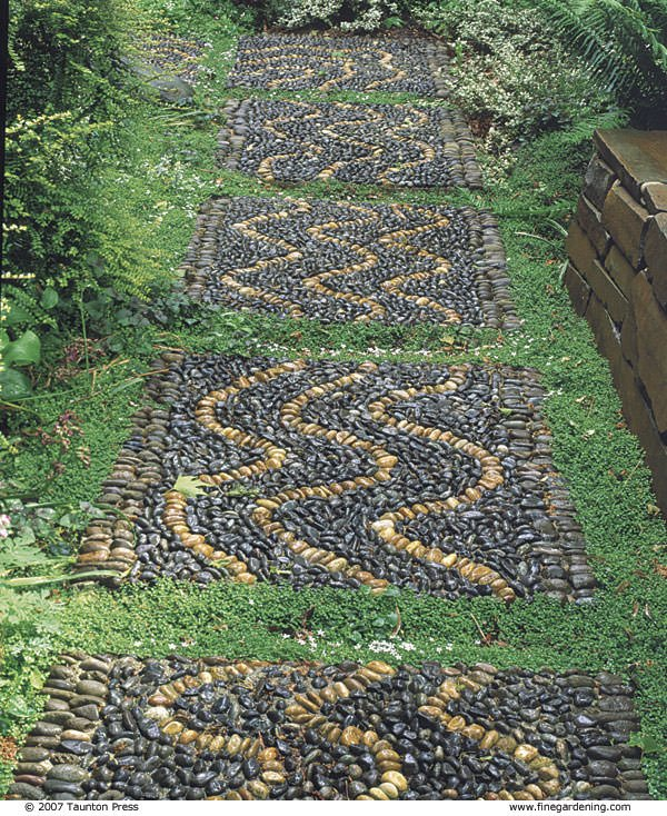 Making A Wonderful Garden Path Ideas Using Stones: How To Make DIY Garden Stepping Stones