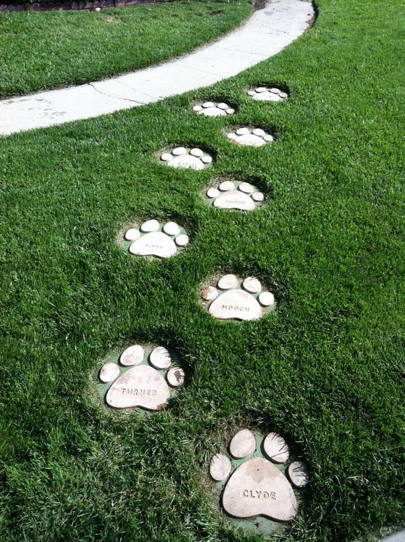 How To Make Diy Garden Stepping Stones The Glove