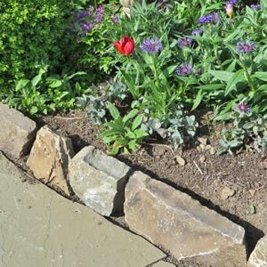 More Garden Edging: Stone