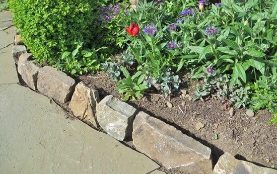 More Garden Edging: Stone