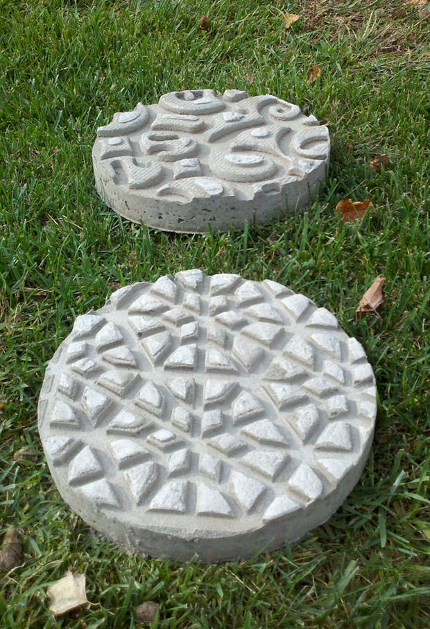 Genial Diy Garden Stepping Stones The Glove