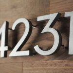 Creative DIY House Numbers