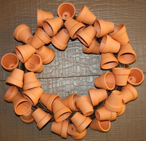 Pot wreath