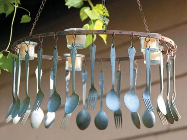 Spoon chimes