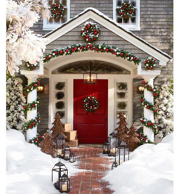Decorating Ideas > Creative Ways To Decorate Your Front Porch For The Holiday  ~ 232629_Outdoor Christmas Decorating Ideas Front Porch