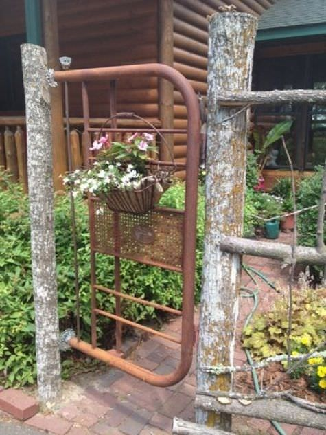 DIY Up Cycled Garden Gates The Garden Glove