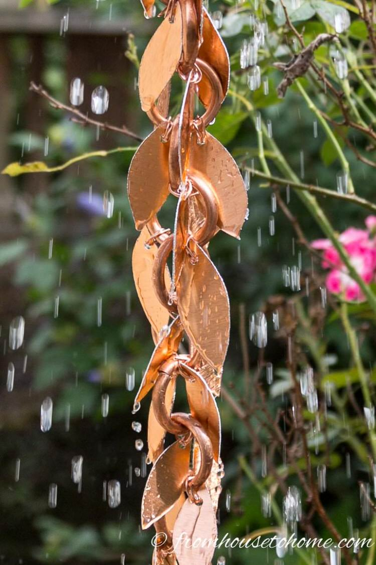 DIY Rain Chains