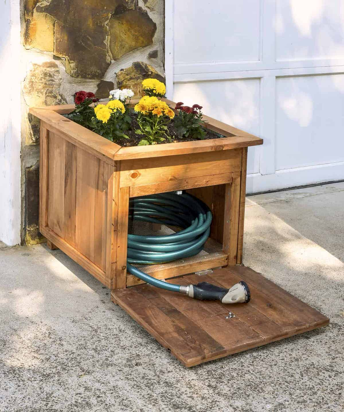DIY Garden Hose Storage • The Garden Glove