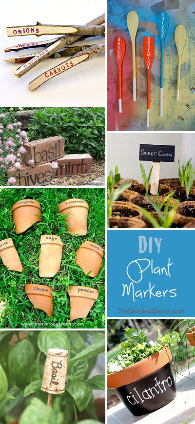 Easy Plant Markers & Labels You Can Make