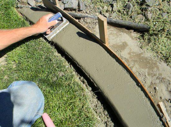 concrete edging