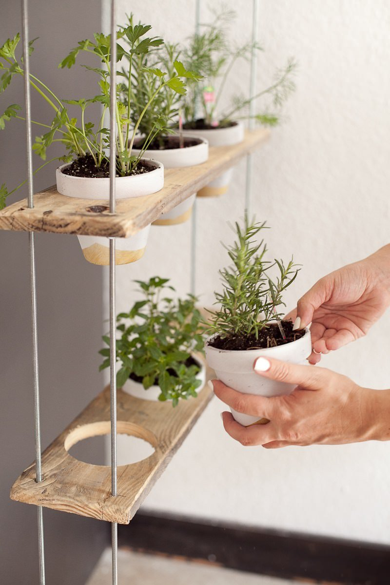 Etonnant Make This Indoor Herb Garden Planter From U0027Grillo Designsu0027 In 10 Minutes  From A Baking Pan!