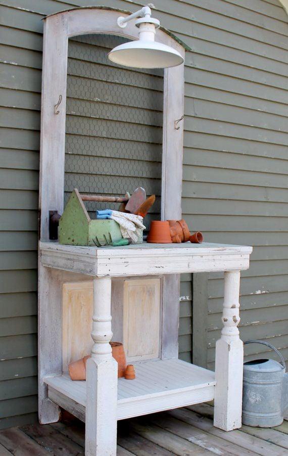 Diy Potting Benches The Garden Glove
