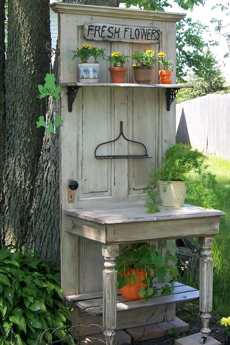 Repurposed Doors Old Door Ideas For The Garden The