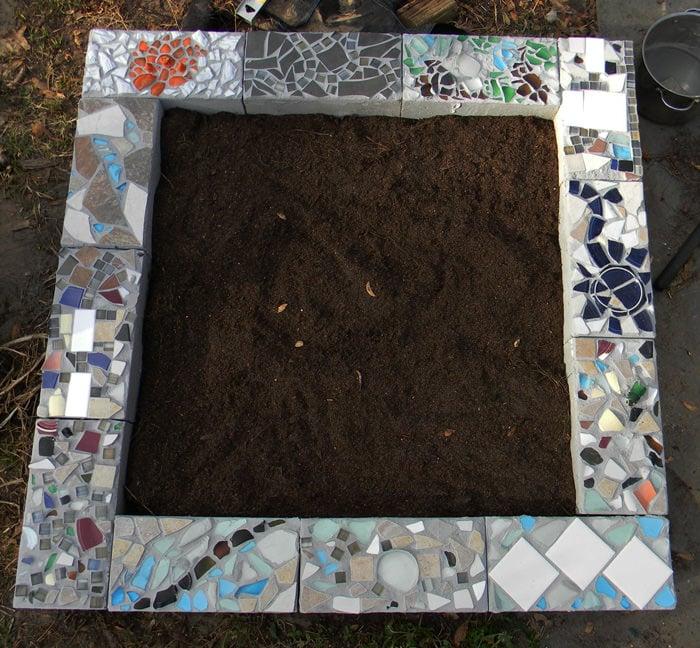 Creative Diy Mosaic Garden Projects The Garden Glove