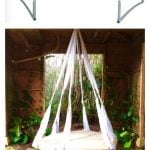 Quick Tip – Recycled Trampoline Hanging Bed!