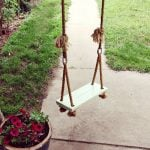 DIY Garden Swings