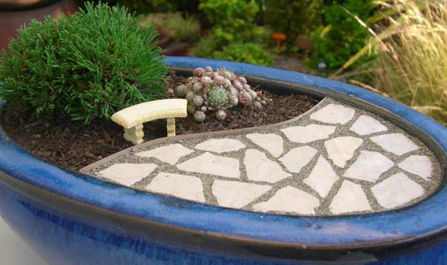 DIY miniature gardens