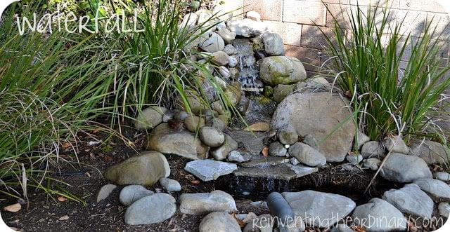 DIY Waterfall