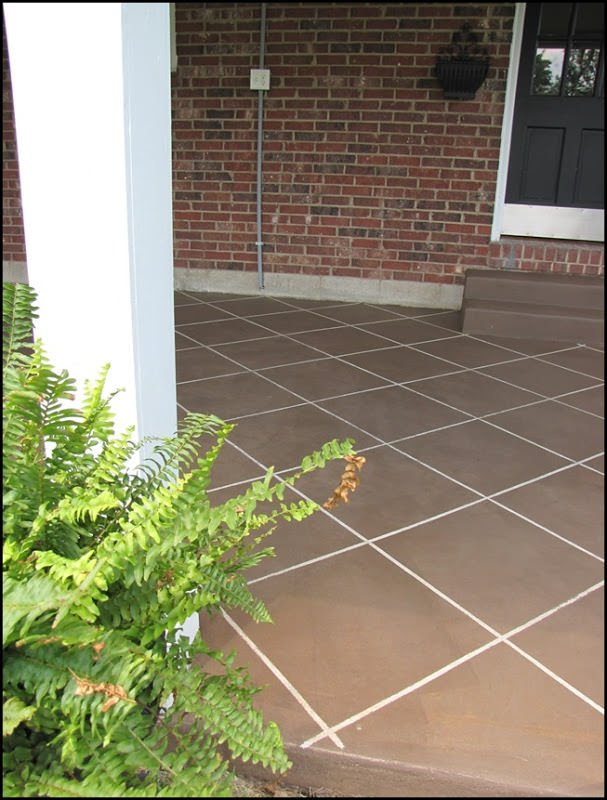 Diy Concrete Patio Cover Up Ideas The Garden Glove
