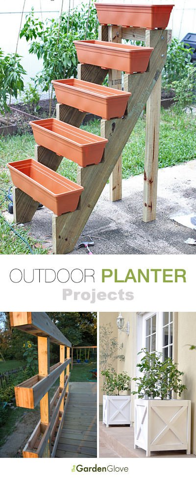 Our First Outdoor Planter Idea Comes To Us From Por Mechanics Learn How Make This Simple Diy Wood With Great Tutorial And Lots Of