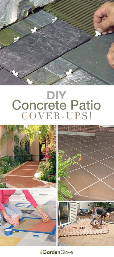 DIY Concrete Patio Cover Up Ideas   The Garden Glove on Diy Concrete Patio Ideas id=71280