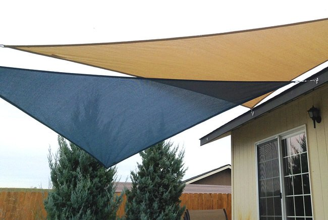 How to Install & Use Shade Sails | The Garden Glove
