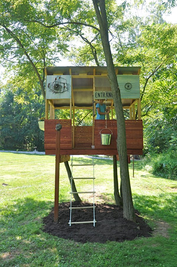How to Build a Treehouse for Kids! • The Garden Glove