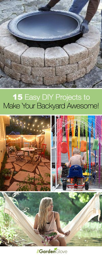 15 Easy Natural Make Up Tutorials 2014 For Beginners: 15 Easy DIY Projects To Make Your Backyard Awesome