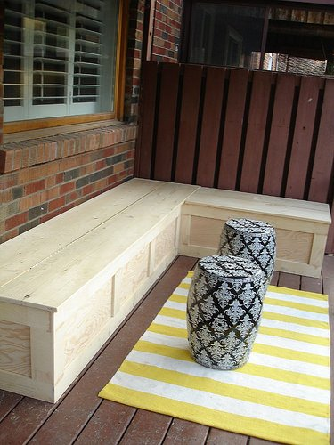 Outdoor Storage Bench Instructions | DIY Woodworking Projects