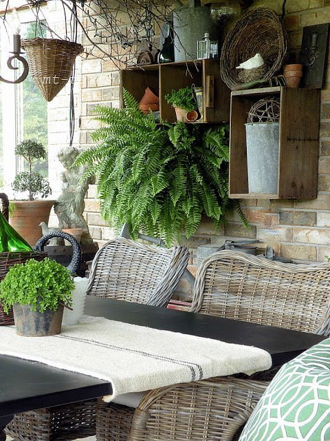 Repurposing Ideas For Outdoor Room Decor The Garden Glove