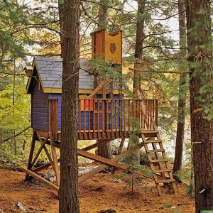 Want to Make a Treehouse?