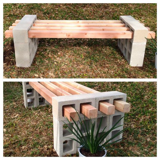 Awe Inspiring 13 Awesome Outdoor Bench Projects The Garden Glove Creativecarmelina Interior Chair Design Creativecarmelinacom