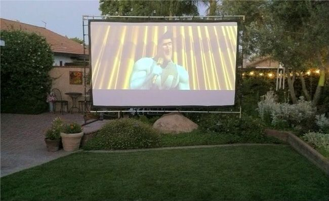 and storage ideas, but also a new idea for using your outdoor theater
