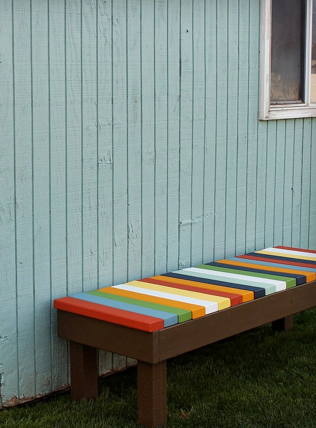 13 Awesome Outdoor Bench Projects The Garden Glove