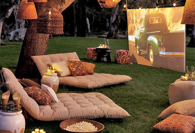 outdoor playground outdoor cinema