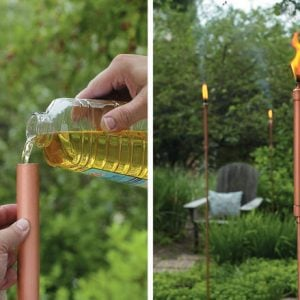 DIY Tiki Torches - Light Your Garden!